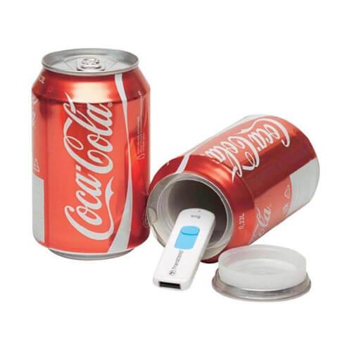 bote Cocacola doble fondo