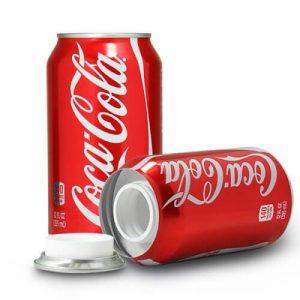 Cocacola de ocultación con compartimento secreto