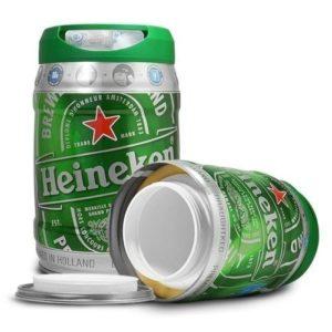 Barril Heineken ocultacion
